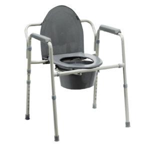 Krzesło toaletowe – składane