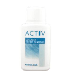 ACTIV – Collagen Cream Shampoo 200ml – szampon  z kolagenem i witaminami do peruk z włosów naturalnych